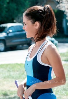 Seen on Celebrity Style Guide: Hart of Dixie Fashion: Rachel Bilson as Zoe Hart wears this blue colorblock tennis dress with a ruffled hem on Hart of Dixie Episode Something to Talk About. Get It Here: http://rstyle.me/~1j2rX