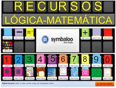 SYMBALOO RECURSOS LÓGICA-MATEMÁTICA Teacher Binder, Apps, Toddler Preschool, Mathematics, Homeschool, About Me Blog, Dual Language, Angel, Kids Math