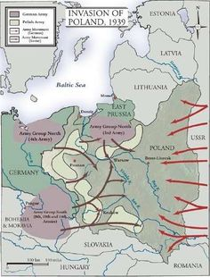 German / Russian Invasion of Poland 1939 like from the Germans and Russians in their secret pact negotiated to destroy Poland as allies ! Irena Sendler, World History, World War Ii, Invasion Of Poland, My War, Alternate History, Historical Maps, Military History, Wwii