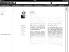 The Team - Rather lengthy bio for a website. But, it's nice that it has a photo and the organization is clear.