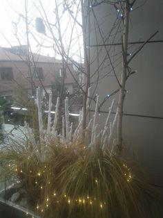 dekoracje świąteczne tarasu