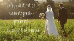 Europe Destination Wedding Cinematography Giveaway!