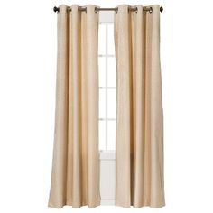 Eclipse™ Light Blocking Grafton Thermaback Curtain Panel (natural)