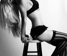 a picture idea for a boudoir shoot ;)