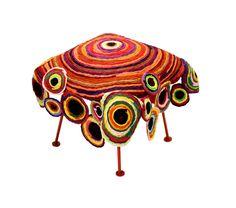 Chakri Seat : Multicolor Furniture