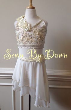 Sewn By Dawn Custom Lyrical Dance Costume
