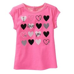 Jumping Beans® Tee - Baby Girl