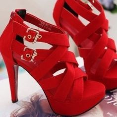 New arrivals 2014 t strap high heels pumps women sexy shoes black pink Cute Shoes, Me Too Shoes, Shoe Boots, Shoes Heels, Sandal Heels, Louboutin Shoes, Heeled Sandals, Frauen In High Heels, Red High Heels