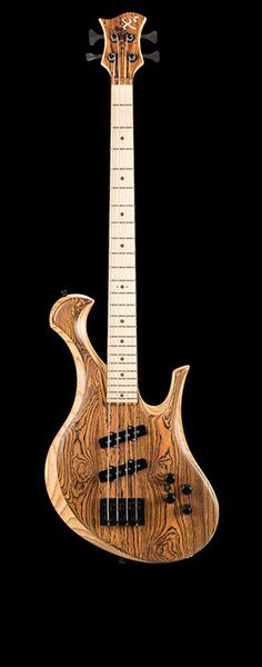 Custom bass with Michael Pope preamp, EMG pickups