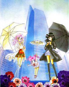 Naoko Takeuchi, Bishoujo Senshi Sailor Moon, Hotaru Tomoe, Chibi Usa, Chibi Chibi