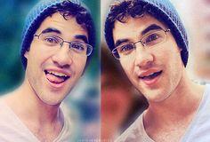 Darren Criss being adorable. As always.