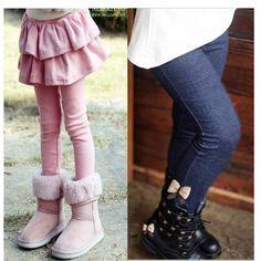 Free shipping Retail girl legging Girls Skirt-pants Cake skirt kids leggings girl baby pants kids leggings leggings for girls