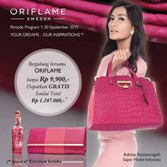 Join Oriflame now only Rp 9900