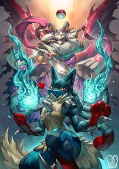 Pokemon x UNDERTALE : Mega Lucario x Asriel. One of my art in my Art book. My Illust books are available for international shipping! Please visit and o. Pokemon x UNDERTALE : Lucario x Asriel Mega Lucario, Lucario Pokemon, Bulbasaur, Eevee Evolutions, Cool Pokemon Wallpapers, Cute Pokemon Wallpaper, Undertale Pokemon, Best Pokemon Ever, Digimon