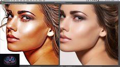 Tutorial Photoshop Efecto Pintura al Oleo en 1 Minuto - Solo para Suscri...