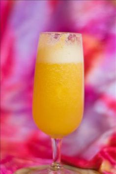 Virgin Peach Bellini from Food.com: Created in Venice, Italy, then promoted in restaurants such as the Olive Garden, this drink is now widely popular in the US, particularly in the New York area. This is a non alcoholic version of the classic bellini.