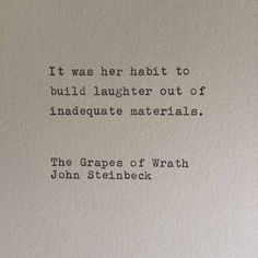 The Grapes of Wrath- John Steinbeck