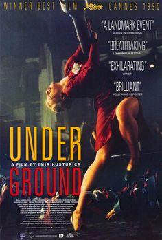 Underground 27x40 Movie Poster (1995)