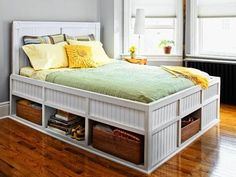How to Build a Storage Bed - This Old House