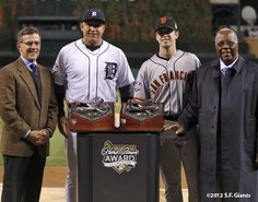 history in the making-both HA award winners playing each other in the world series