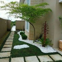 Small garden design 836121487049443314 - 43 Creative Side Yard Garden Design Ideas For Summer Source by Backyard Garden Design, Small Garden Design, Backyard Patio, Backyard Ideas, Porch Ideas, Landscape Plans, Landscape Design, Landscape Architecture, Small Yard Landscaping