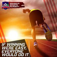 It is all about making extra efforts! #Ramagya #RamagyaSportsAcademy #learn #train #play #coach #sports #games #winner #interesting #golf #football #efforts #basketball #delhincr #noidaacademy #somethingforeveryone #worldchampion #didyouknow #facts