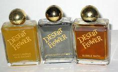 Shulton Desert Flower Bath Trio - $35