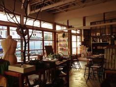 「古民家→カフェ / Japanese traditional house → Cafe 」ひだまり商店  (浦和/埼玉)http://ikigoto.com/living/tabi/