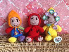 amigurumi les triplés - figurines décoratives - Le Fait-Main de Colibri51 ! - Fait Maison