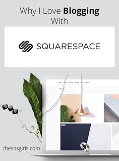 Blogging Tips | How To Blog | Most people talk about WordPress or Blogger when they are going to start a blog. I like a third option much better - Squarespace. Read why and see if it might be the right blogging platform for you, too by @faithfulsocial for @sitsgirls