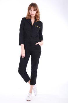 b8730cc981 Shop our collection of vintage inspired jumpsuits. Fabulous denim jumpsuits
