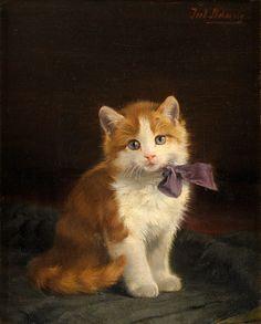 СимпатичноПушистое...Julius Adam II (German, 1852-1913). Обсуждение на…