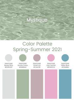 Veja as tendências para primavera 2020 e verão 2021 | Blog da Mari Calegari Spring Color Palette, Colour Pallete, Color Palettes, Color Combos, Cool Summer Palette, Trend Fashion, Fashion Quiz, 2000s Fashion, Fashion Lookbook