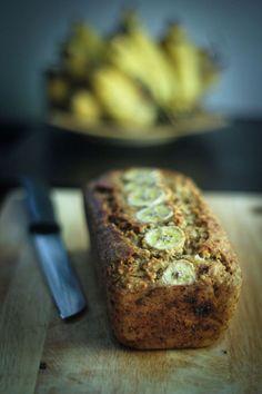 Healthy Banana Coconut Bread (Vegan)