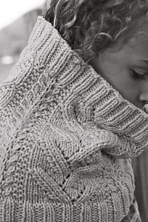 Adiri Cowl by Julia Trice. worsted. Part of Mind of Winter's Adiri set with matching hat & mitts.