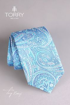 Our ties are part of the premium category, being made in Italy. They are made of Como silk and are noted for their superior quality, presenting an impeccable handwork. Italian Style, Superior Quality, Silk Ties, Floral Tie, Italy, Elegant, How To Make, Handmade, Blue