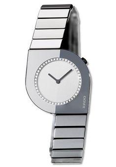 Rado Women's R25474712 Cerix Diamond Watch Rado. Save 68 Off!. $1470.00. Ceramic case; Silver dial. Water-resistant to 99 feet (30 M). Case diameter: 31 mm. Precise Swiss-Quartz movement. Scratch-resistant-sapphire crystal