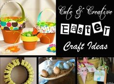 23 Cute and Crafty Easter Craft Ideas for Kids  Easyday