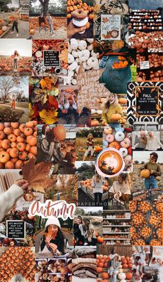 Autumn collage/wallpaper by Wallpaper Tumblr Lockscreen, Fall Wallpaper Tumblr, Iphone Wallpaper Herbst, Cute Fall Wallpaper, Halloween Wallpaper Iphone, Holiday Wallpaper, Wallpaper Iphone Cute, Aesthetic Iphone Wallpaper, Cute Wallpapers