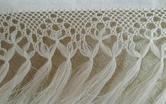 Tassels, Elsa, Fringes, Towels, Tricot, Craft, Macrame Art, Flamenco Dresses, Bangs