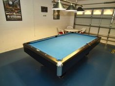 This A Pretty Cool Idea To Combine Your Garage With Your Own Man - Pool table in garage