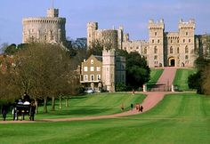 Windsor Castle, England.  This is known as the Long Walk.