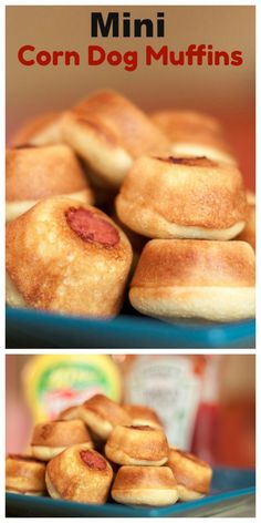 These mini corn dog muffins will satisfy your corn dog craving without taking too large of a bite out of you daily calorie allowance. They are easy to make and are sure to be a hit at dinner time.