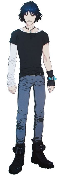 Ren dmmd full body! Ren is my second favorite character in DRAMAtical Murdrer