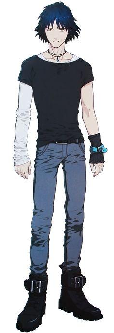 Ren dmmd full body! Ren is my second favorite character in DRAMAtical Murdrer