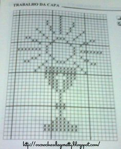 Filet Crochet, Thread Crochet, Crochet Doilies, Diy Embroidery, Cross Stitch Embroidery, Crochet Blocks, Crochet Patterns, Religious Cross Stitch Patterns, Faith Crafts