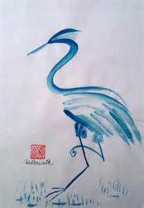 abstract blue heron - Bing Images