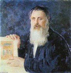 Portrait of S.Churakov - (Igor Emmanuilovich Grabar)