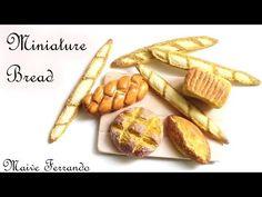 Miniature Polymer Clay Box of Donuts/Doughnuts Tutorial // Maive Ferrando - YouTube