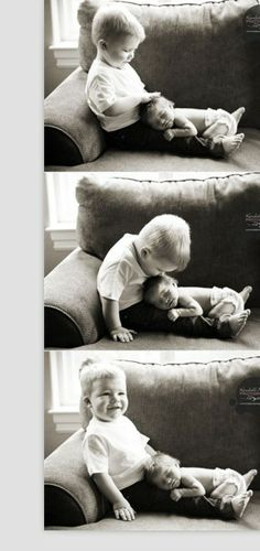 baby photography newborn baby with his toddler brother